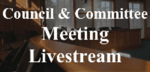 Council & Committee Livestream