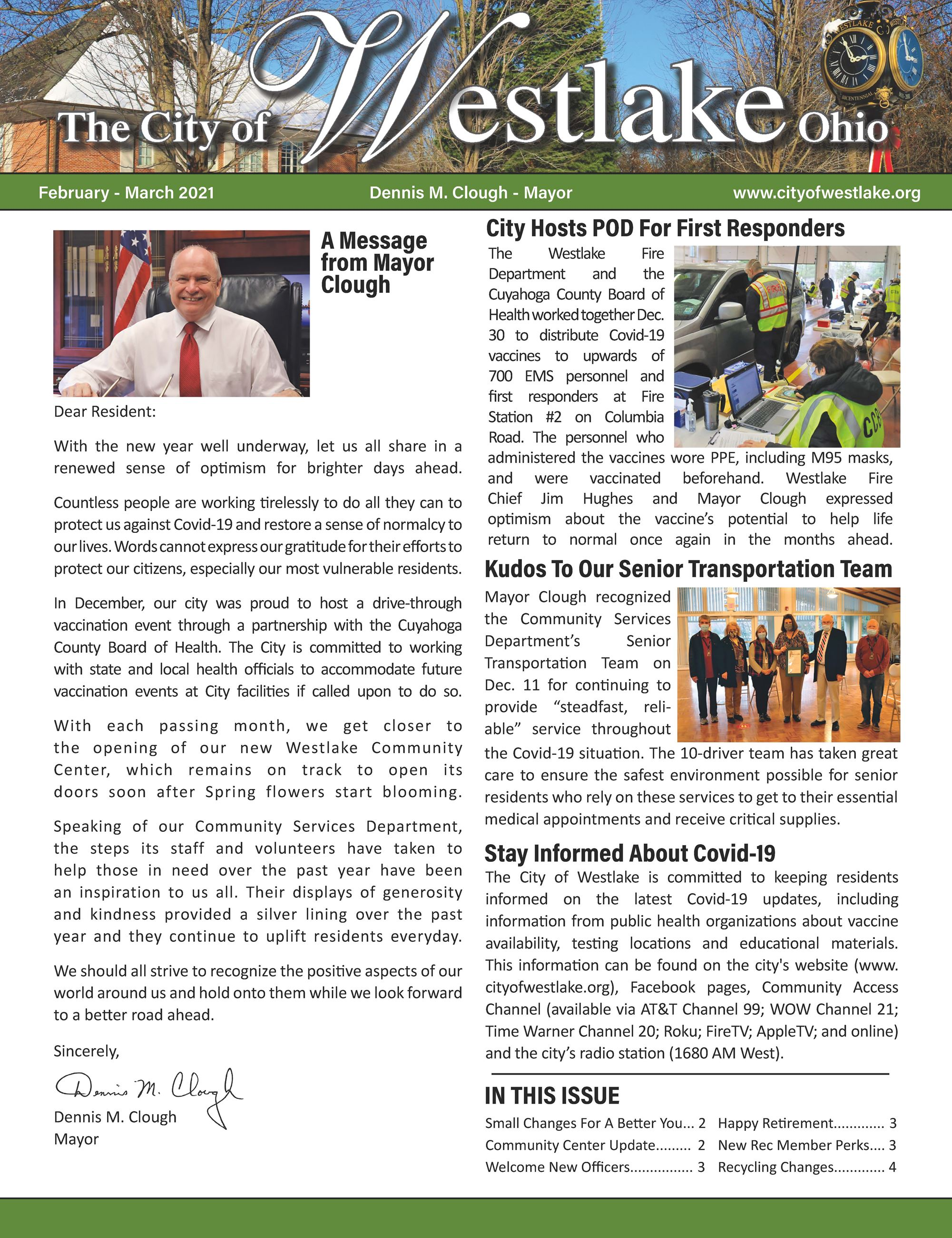 Westlake Mayors Feb-March 2021 Cover