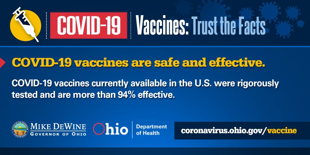 Trust the Facts: Information on Covid-19 Vaccines - Slide 1