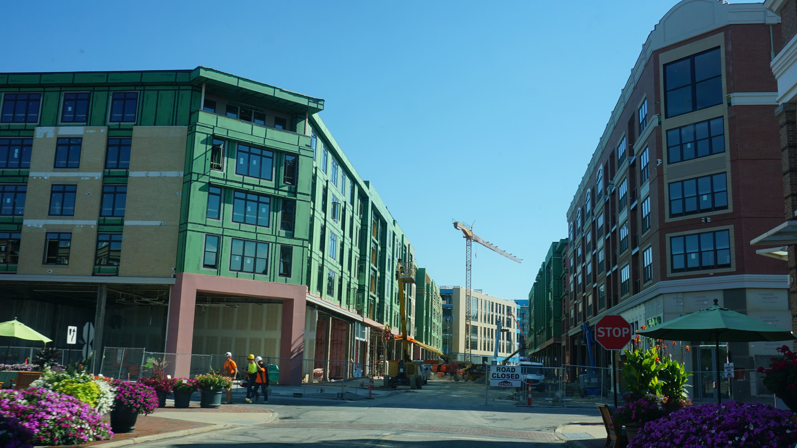 Crocker Park Construction