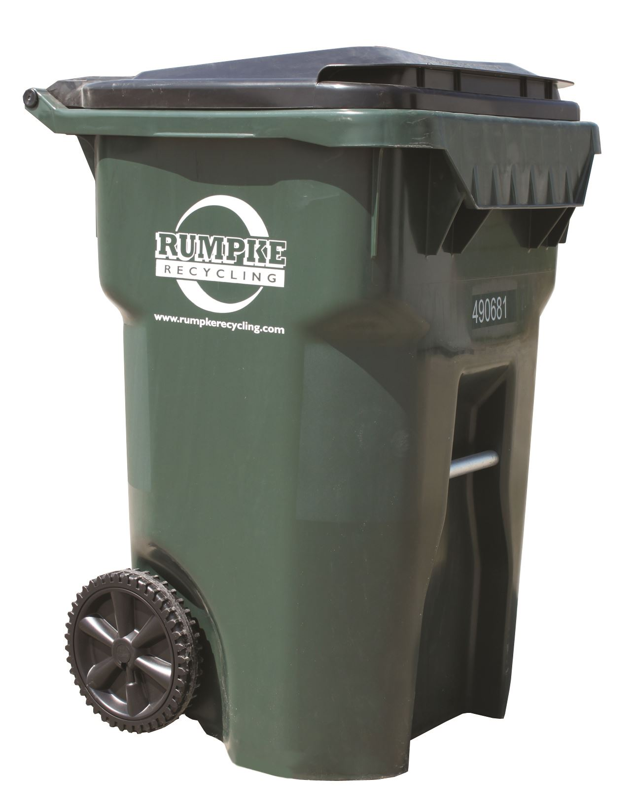 Rumpke Recycling Cart