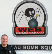 Officer Jason Carman Who Is the Bomb Technician