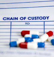 Chain of Custody Narcotics Evidence