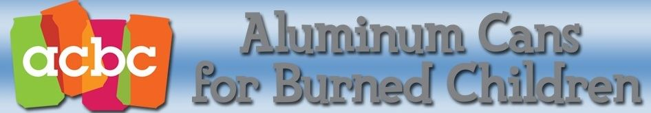 Aluminum Cans for Burned Children logo
