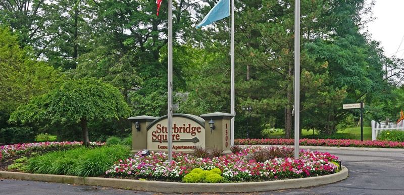 Apartment or Condominium Complex Entrance: Sturbridge Square Apartment