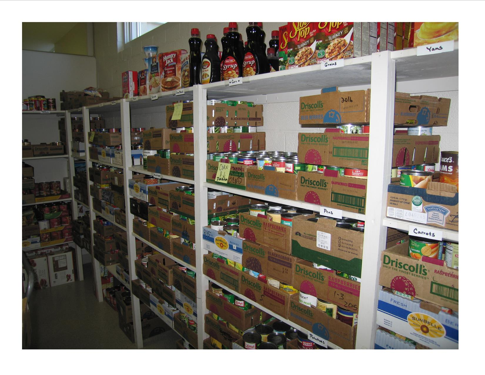Senior and Community Services Food Pantry