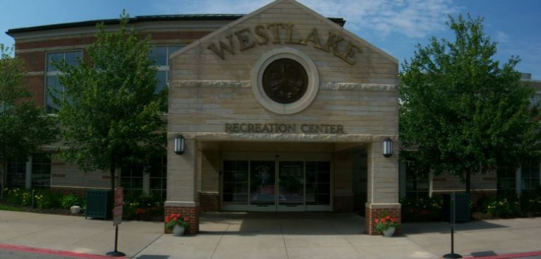Westlake Rec Center entrance