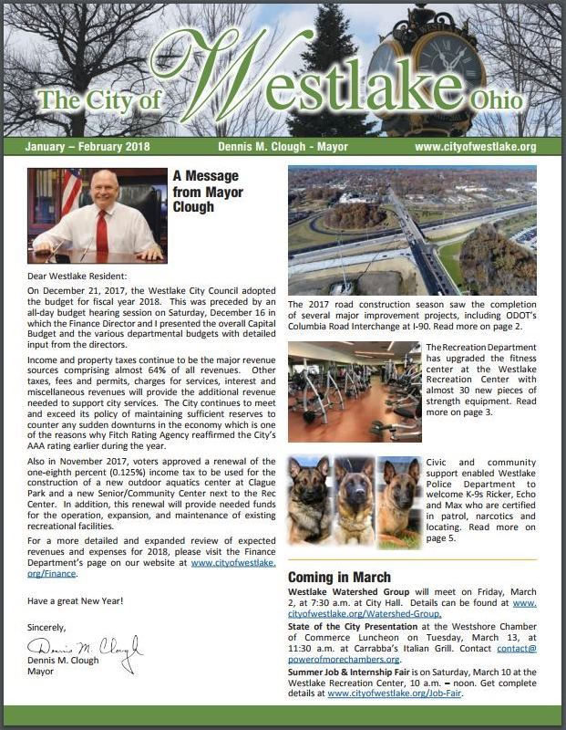 MayorsNewsletter Cover JanFeb2018 full