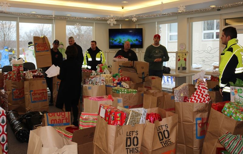 2017 Holiday Food Basket and Adopt-A-Family Distribution