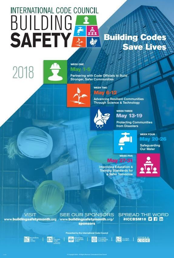 2018 Building Safety Month poster small