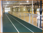 Indoor Track Stretch