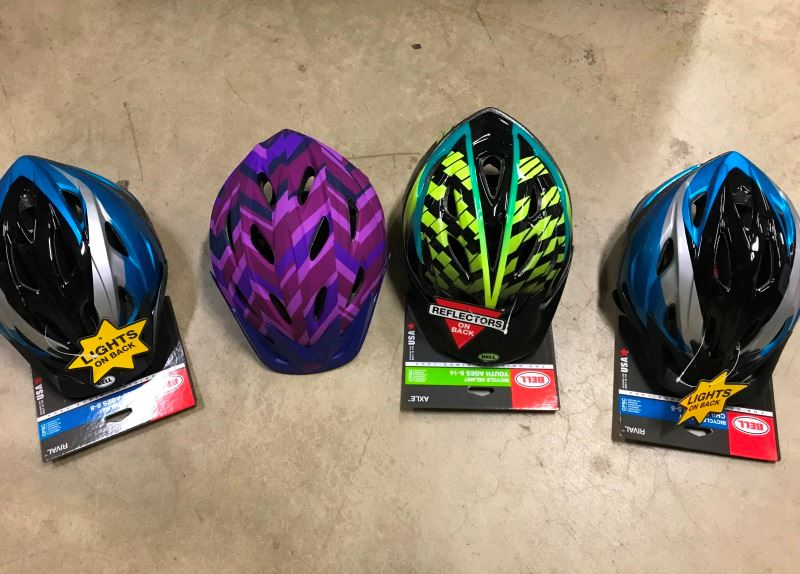 Helmets for 2018 Safety Fair