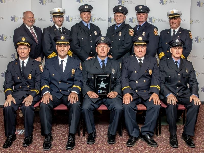 2018 EMS Star of Life Award Group Photo
