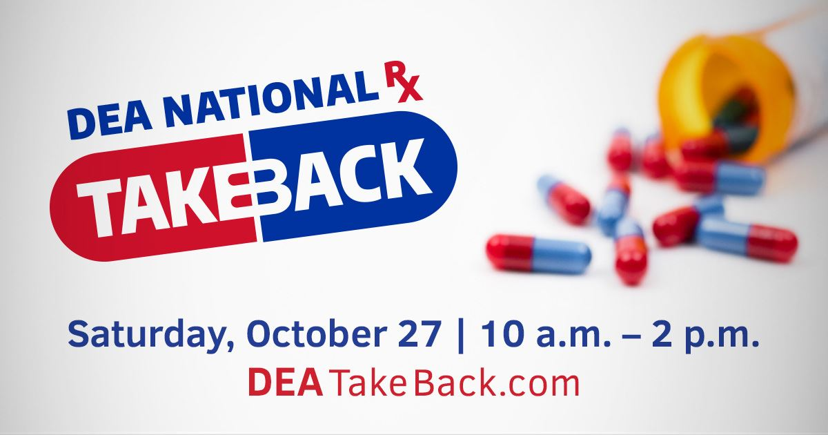 DEA National Drug Take Back Day Fall2018