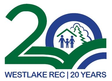 20th Anniversary of the Westlake Rec logo