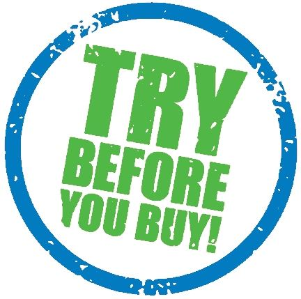 Try-before-you-buy graphic