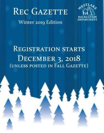 Rec Gazette cover Winter 2019