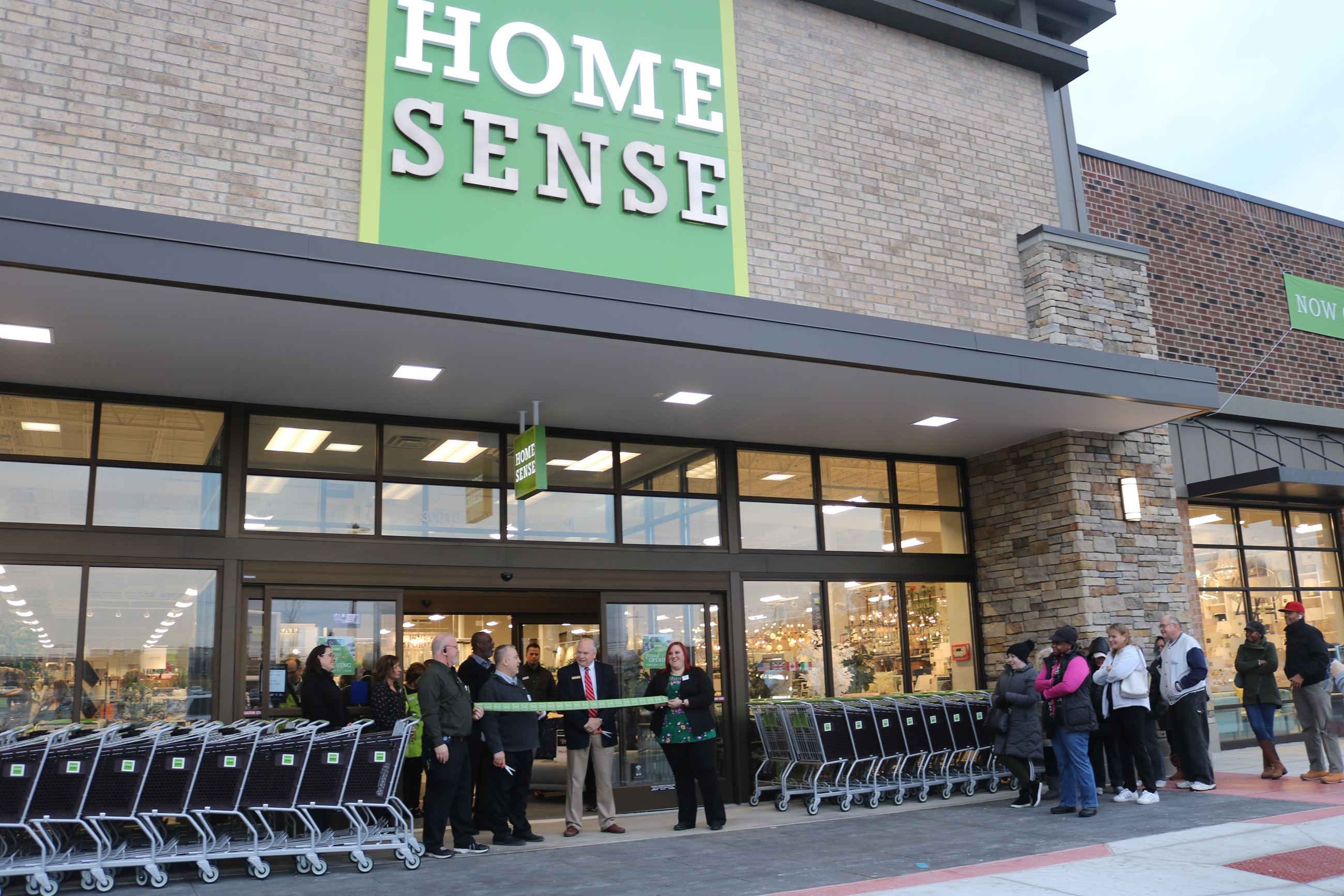 HomeSense Ribbon Cutting