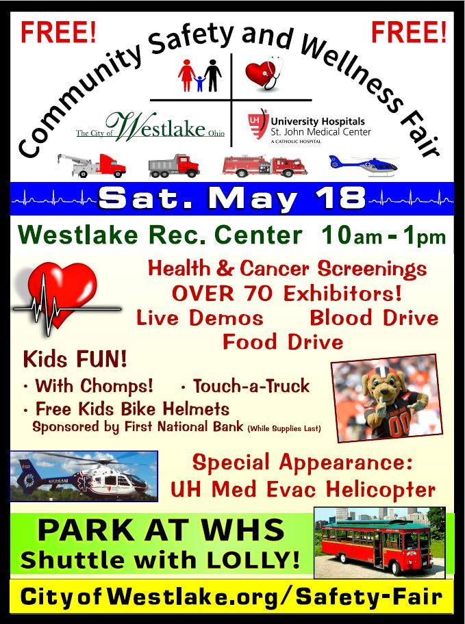 Community Safety and Wellness Fair | Westlake, OH - Official