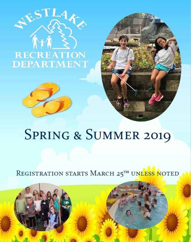 2019 Spring and Summer Rec Gazette