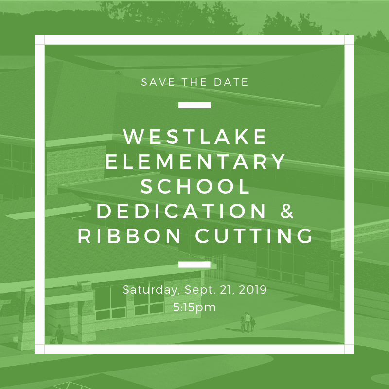 Westlake Elementary School Dedication