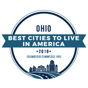 Best Cities to Live Ohio 2019 by ChamberofCommerce.org