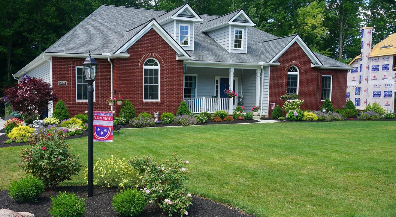 Residential Landscaping -Front Yard -Don and Mary Beth Schneidler